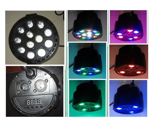 Lampu Sorot Panggung Led Par Light 18 RGB Stage Cahaya - 653