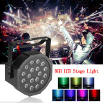 Lampu Sorot Panggung Led Par Light 18 RGB Stage Cahaya – 653