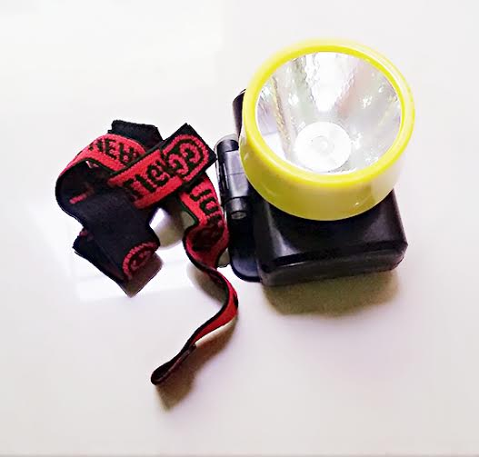 Senter Kepala Batery Lampu Led Head Lamp Light - 652