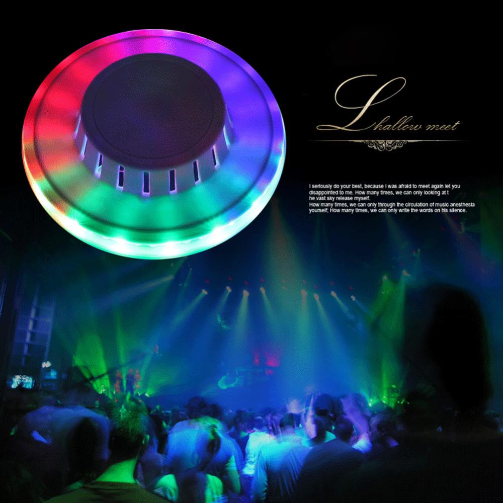 Lampu LED Stage UFO Disco Party Lamp Berubah Warna Warni Pesta Disko - 656
