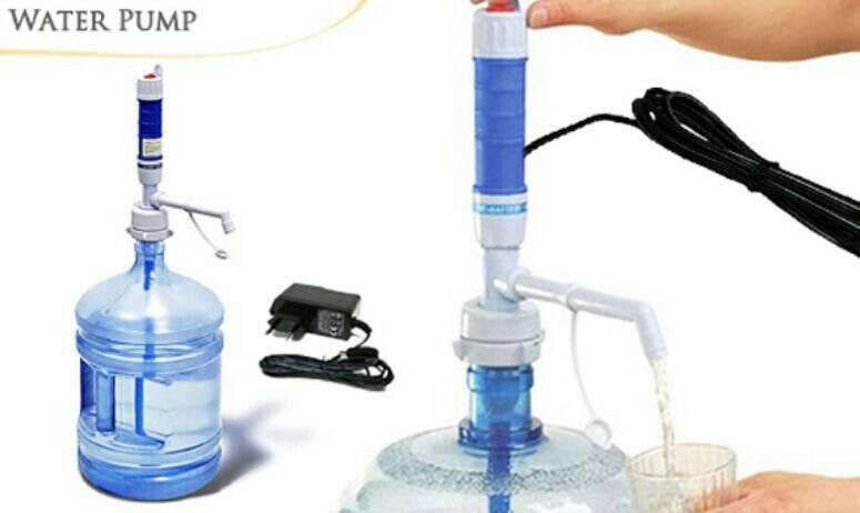 Pompa Galon Elektrik Pakai Adaptor Listik NON CHARGER Water Pump - 670