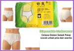 Disposable Underwear Celana Dalam Darurat Sekali Pakai Bahan Kertas – 673