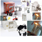 Mesin Jahit Mini Lampu Portable 4 In 1 Mini Sewing Machine 2 Benang MingHui – 678
