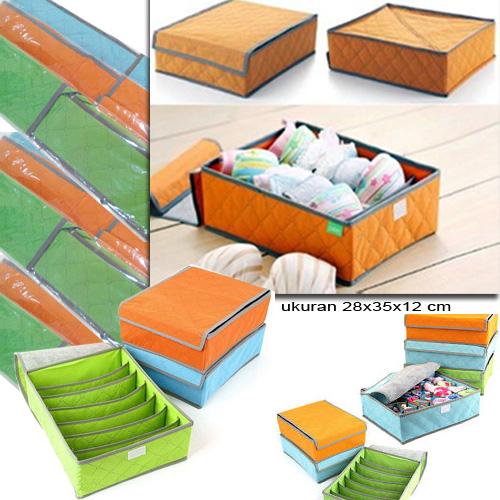 Underwear Storage Box BH Bra Baju Pakaian Dalam - 680