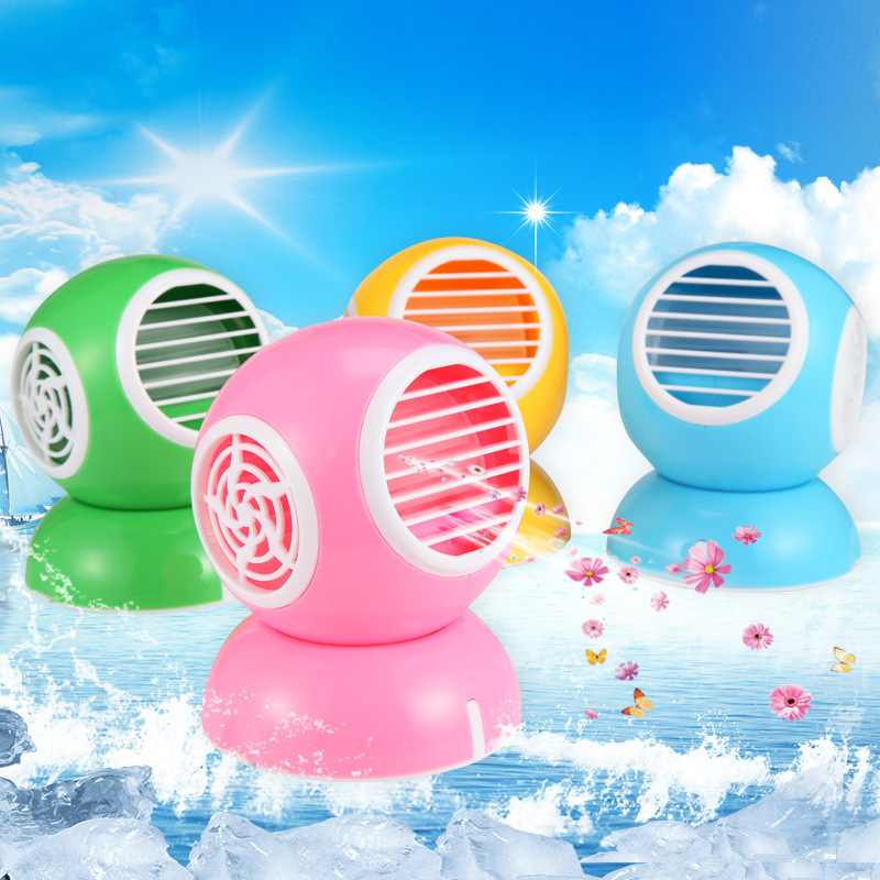 AC DUDUK MODEL BULAT MINI AIR CONDITIONER - 683