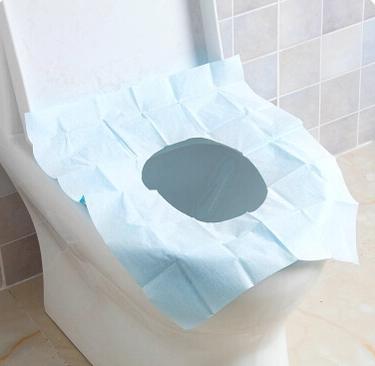 Alas Kertas Kedap Air buat Kloset Duduk Disposable Closet Seat Cover - 697