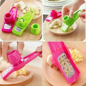 Alat Penghalus Bawang Keju Jahe Ekonomis Garlic Mixer Press Kitchen - 695