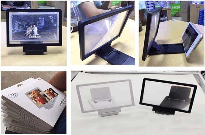 Kaca Pembesar Layar HP Magnifer 3D Enlarged Screen Mobile Smart Phone - 698