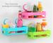 Rak Gantung Persegi Serbaguna Multifungsi Tempat Sabun Shampoo Kamar Mandi – 696