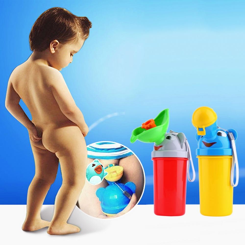 BABY URINAL Potty Pot Travel Tempat Pipis Kencing Portable Toilet Anak Cewek Cowok Lucu - 694