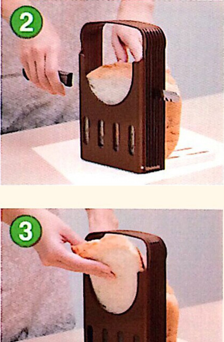Bread Slicer Cutter Pemotong Roti Tawar Bekal Anak Sekolah Kids Snack - 702