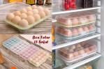 Kotak Telur Isi 15 Egg Box Penyimpan Di Tray Kulkas Organizer – 707