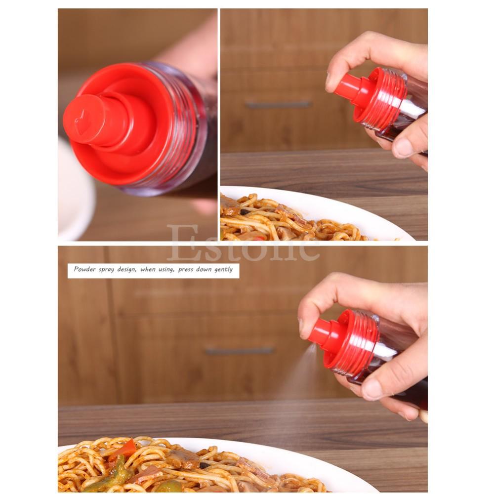 Botol 2in1 Tempat Kecap Sauce Oil Generasi Dua Saos Bumbu Dapur Spray - 712