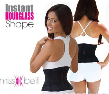 Miss Belt Instant Hourglass Body Shape Slimming Kecantikan Tubuh Wanita - 716