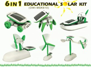 Solar Kit 6 In 1 Robot Educational Toys Mainan Edukasi Anak Kids Hobi – 710