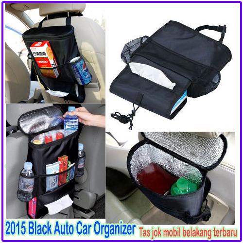 Auto Seat Car Organizer Tahan Suhu Panas Dingin Cooler Bag Mobil - 731