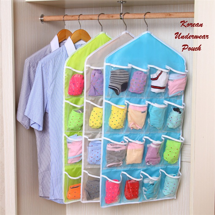 Korean Underwear Hanging Pouch - 730