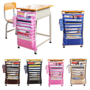 Hanging Table Desk Organizer Meja Belajar Book Rack Buku Alat Tulis – 740