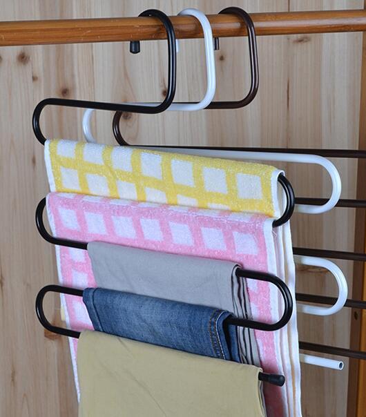 Hanger Gantung Susun 5 in 1 Gantungan Baju Pakaian Laundry - 741