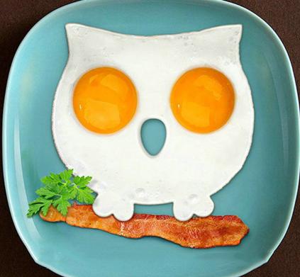 Burung Hantu Cetakan Telur Owl Silicone Mold Bekal Anak - 738