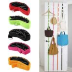 UP DN Hook Hanger Gantungan Pintu Baju Tas Topi Rack Organizer Fashion – 745