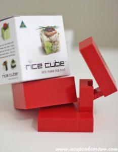 Rice Cube Mold Sushi Maker Cetakan Nasi Kotak Bento Kitchen Home – 753