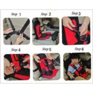 Safety Baby Seat Car Cushion Multifungsi – 747