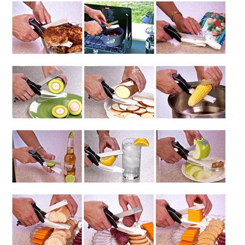 Clever Cutter Gunting Talenan Pemotong Sayur - 749