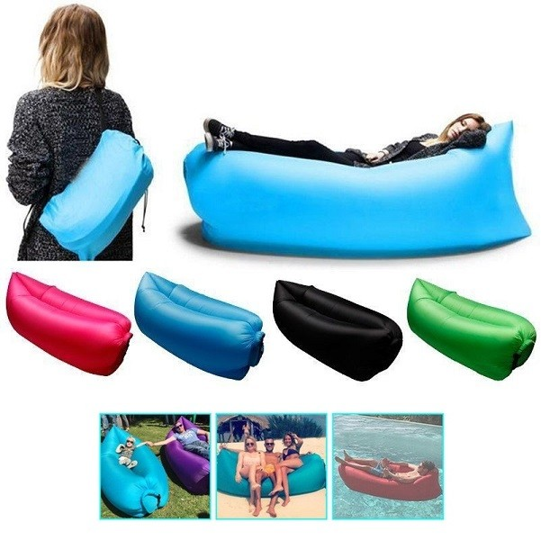 Kursi Angin Malas Lazy Air Bag Inflatable Sofa Bed Laybag Travel - 752