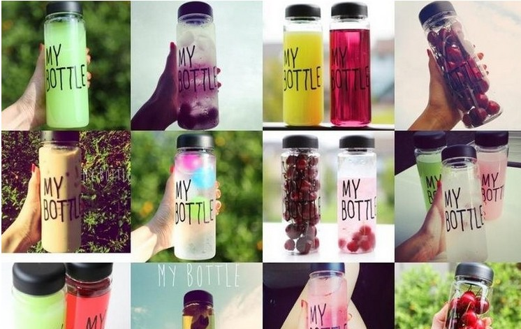 Botol Minum MY BOTTLE Infused Water - 748