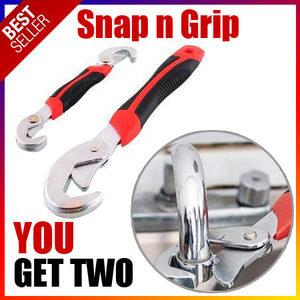 SNAP N GRIP Double Kunci Inggris Pas Multifungsi Serbaguna Universal Wrench – 750