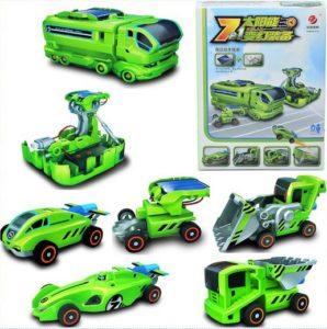Solar Robot 7 In 1 Transformer Kit Mainan Edukasi Anak – 758