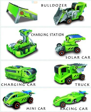 Solar Robot 7 In 1 Transformer Kit Mainan Edukasi Anak - 758