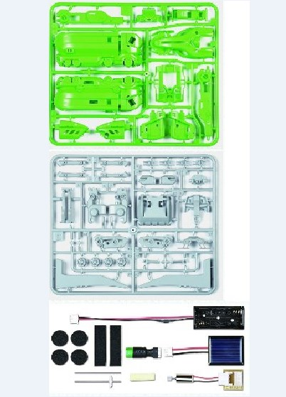 Solar Robot 7 In 1 Transformer Kit Mainan Edukasi Anak - 758