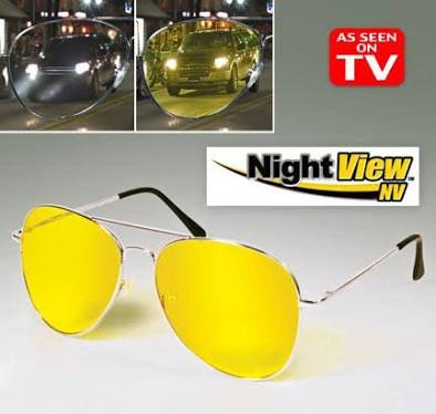 Night View Glasses Vision Kacamata Anti Silau di Malam Hari Anti UV - 764