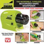 Swifty Sharp Pengasah Pisau Gunting Otomatis Elektrik Knife Sharpener – 769