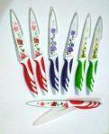 Pisau Dapur Mawar Tajam Anti Karat Unik Motif Bunga Kitchen Knife – 772