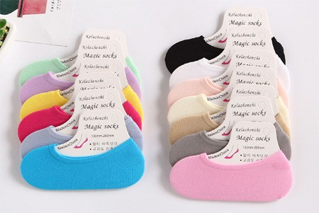 KAOS KAKI BAWAH MATA KAKI HIDDEN SOCKS INVISIBLE MAGIC SOCK - 786