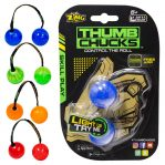 Finger Yoyo Thumb Chucks Ball Lamp New Fidget Spinner Glow In The Dark Mainan Edukasi Anak Kids Toys – 788