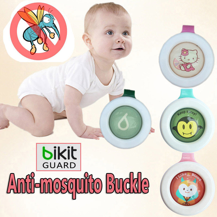 Pin Anti Nyamuk Serangga Bikit Guard Anti Mosquito Buckle Baby Kids Korean Style - 789