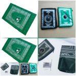 Sajadah Lipat + Kompas + Tas Souvenir Haji Ibadah Umroh Travel Muslim – 792
