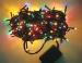 Lampu Beras Tanpa Musik Natal Christmas – 160