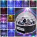 Lampu Disco Musik Speaker USB LED Crystal Magic Ball Light – 608
