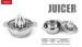 Perasan Manual Jeruk Lemon Orange Juicer Stainless Steel – 648
