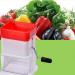 Small Meat Grinder Alat Giling Daging Bawang Sayur Kacang Serbaguna – 724