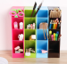 Mini Rack Multifungsi Rak Mini 4 Sekat Tempat Sendok Alat Tulis Desk Table Organizer – 726